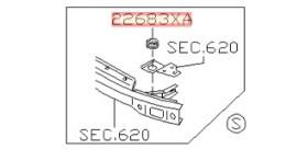 SILENTBLOC FIXATION INTERCOOLER R32 R33 R34 GTR NISSAN