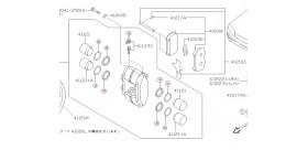 KIT REPARATION ETRIER AVANT BREMBO GTR