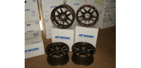 "SET 4 JANTES CR KIWAMI 17"" 5X114 BRONZE WORK WHEELS"