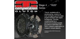 KIT EMBRAYAGE STAGE 4 S13 CA18DET COMPETITION CLUTCH