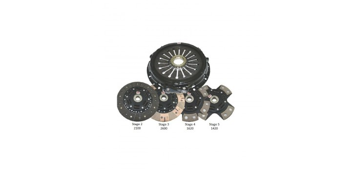 KIT EMBRAYAGE RENFORCE STAGE 2 A 4 HONDA H F SERIES COMPETITION CLUTCH
