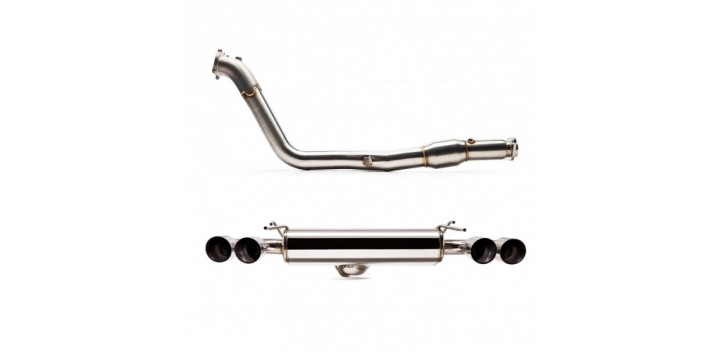 "CATBACK DOWN PIPE 3"" INOX SUBARU HATCHBACK 08+ COBB"