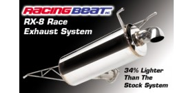 CATBACK RACE RX8 04-08 RACING BEAT