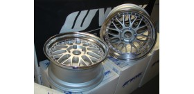 "SET 2 JANTES MEISTER M1 18"" 5X130 WORK WHEELS"