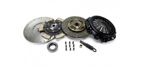 KIT EMBRAYAGE RENFORCE STAGE 2 A 4 + VOLANT MOTEUR FORD FOCUS MUSTANG COMPETITION CLUTCH