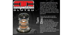 KIT EMBRAYAGE TWIN DISC CELICA MR2 COMPETITION CLUTCH