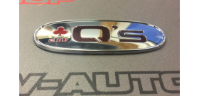 """Emblème """"Q's"""" club trèfle rouge NISSAN S13 S14 S15"""