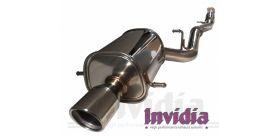 CATBACK Q300 SINGLE IMPREZA WRX STI 01+ INVIDIA