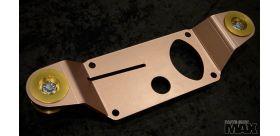 E36 Solid Diff Cover Plaque de renforcement et bagues arrière