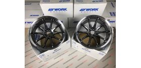 "SET 2 JANTES EMOTION ZR10 19"" X 10.5"" ET23 5x114.3 GTKRC WORK WHEELS"