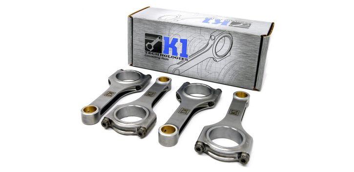 SET 4 BIELLES FORGÉES 139 MM HONDA K20 CIVIC / RSX  K1 TECHNOLOGIES
