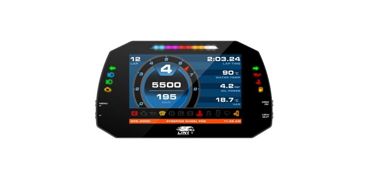 "DASHBOARD DIGITAL AIM MXG STREET EDITION 7"" LINK"