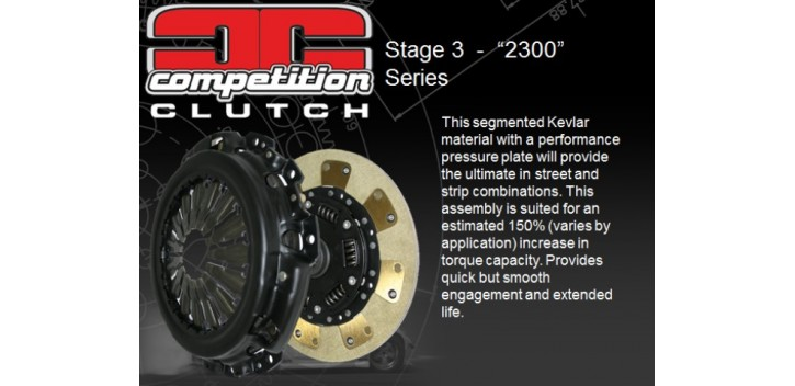 KIT EMBRAYAGE STAGE 3 S14 SR20DETCOMPETITION CLUTCH