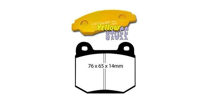 PLAQUETTES ARRIERE R32 GTR VSPEC EBC