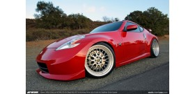 "SET 4 JANTES VS XX NISSAN 350Z 370Z 20"" WORK"
