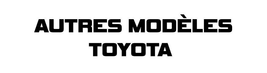 Autres modèles Toyota